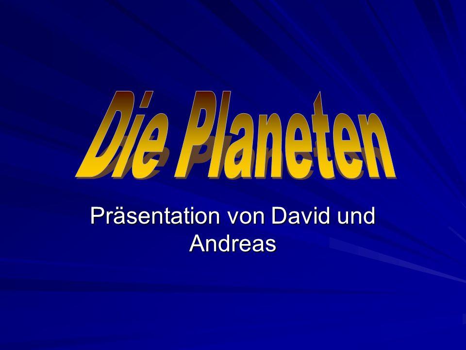 Präsentation von David und Andreas