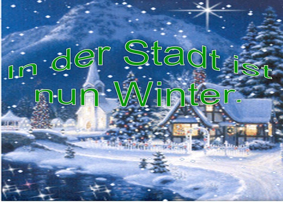 der Winter зима