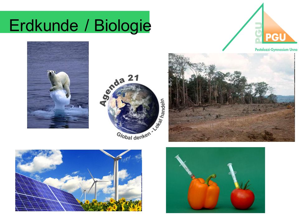 Erdkunde / Biologie