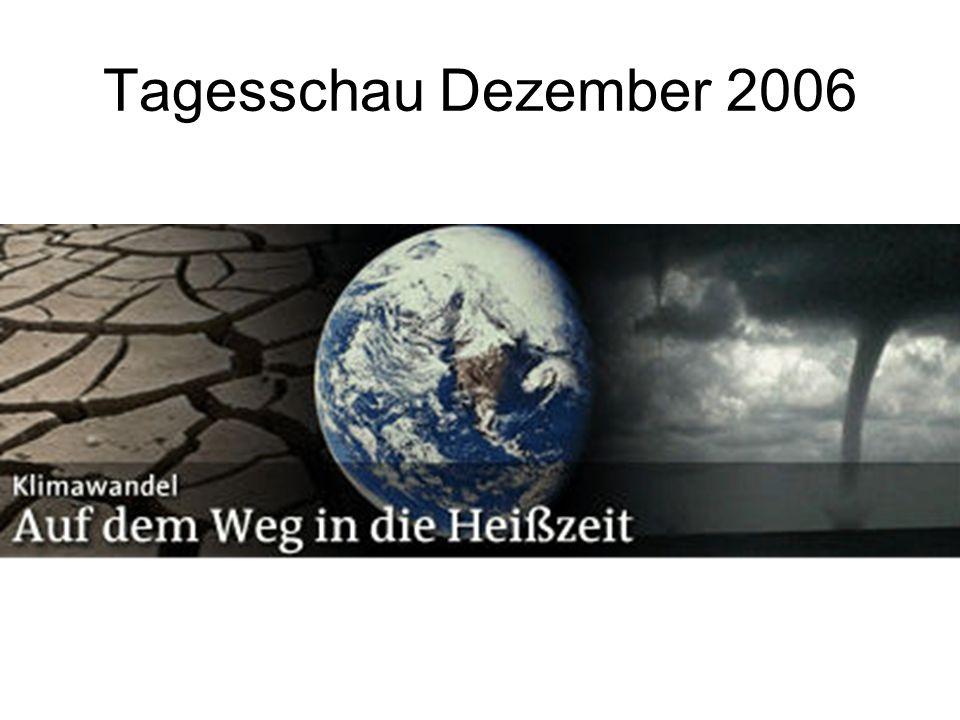 Tagesschau Dezember 2006