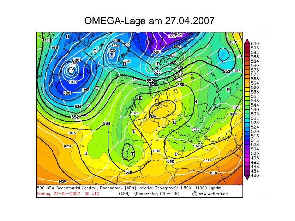OMEGA-Lage am 27.04.2007