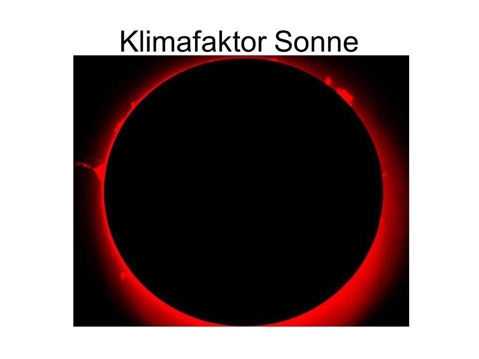 Klimafaktor Sonne