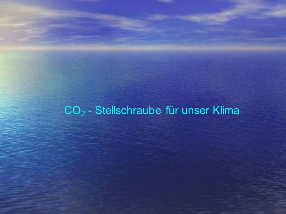 CO 2 - Stellschraube für unser Klima