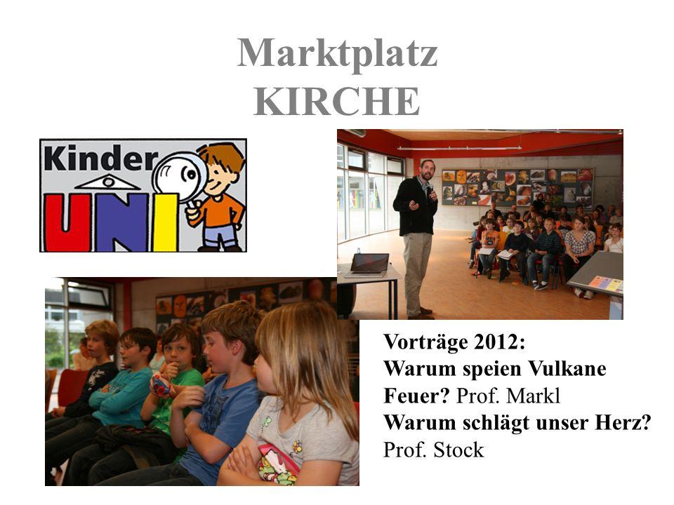 Marktplatz KIRCHE Vorträge 2012: Warum speien Vulkane Feuer.