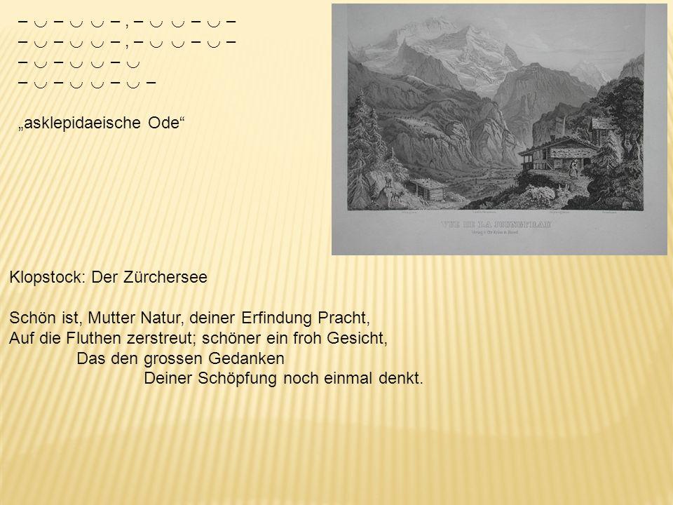 –, –, –, –, – –, – sapphische Ode Mein Wäldchen (Gut Eckhof bei Kiel, Graf und Gräfin Holck) […] Wenn von dem Sturm nicht mehr die Eich hier rauschet,