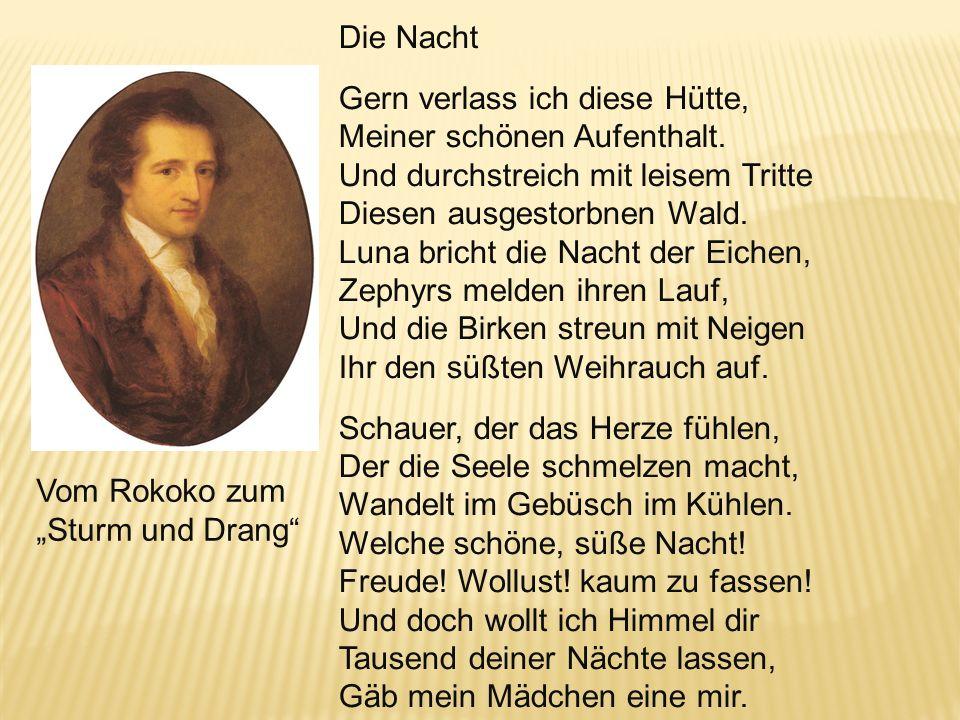 Goethe, Das Buch Annette (1775), Die Laune des Verliebten (Amine), Leipzig 1767/68 und die Leipziger Witz-Kultur des späten Rokoko Chr. F. Gellert Joh