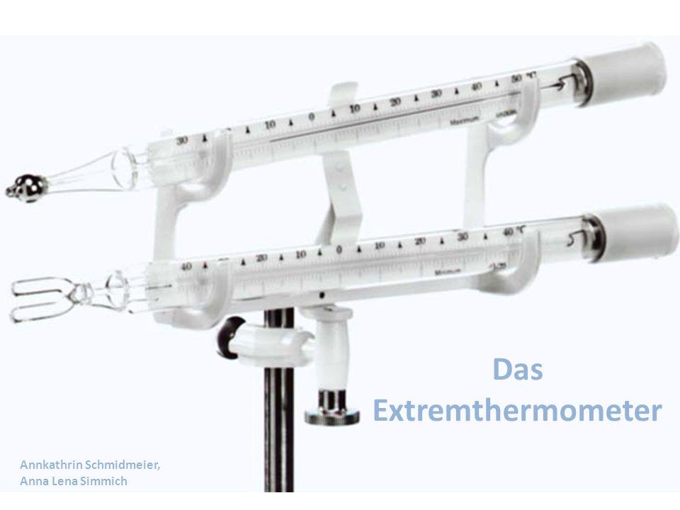 Das Extremthermometer Annkathrin Schmidmeier, Anna Lena Simmich