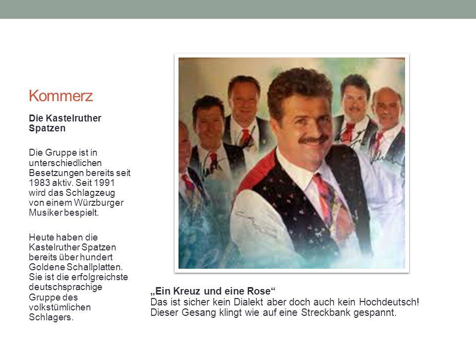 Kommerz Die Kastelruther Spatzen Die Gruppe ist in unterschiedlichen Besetzungen bereits seit 1983 aktiv.
