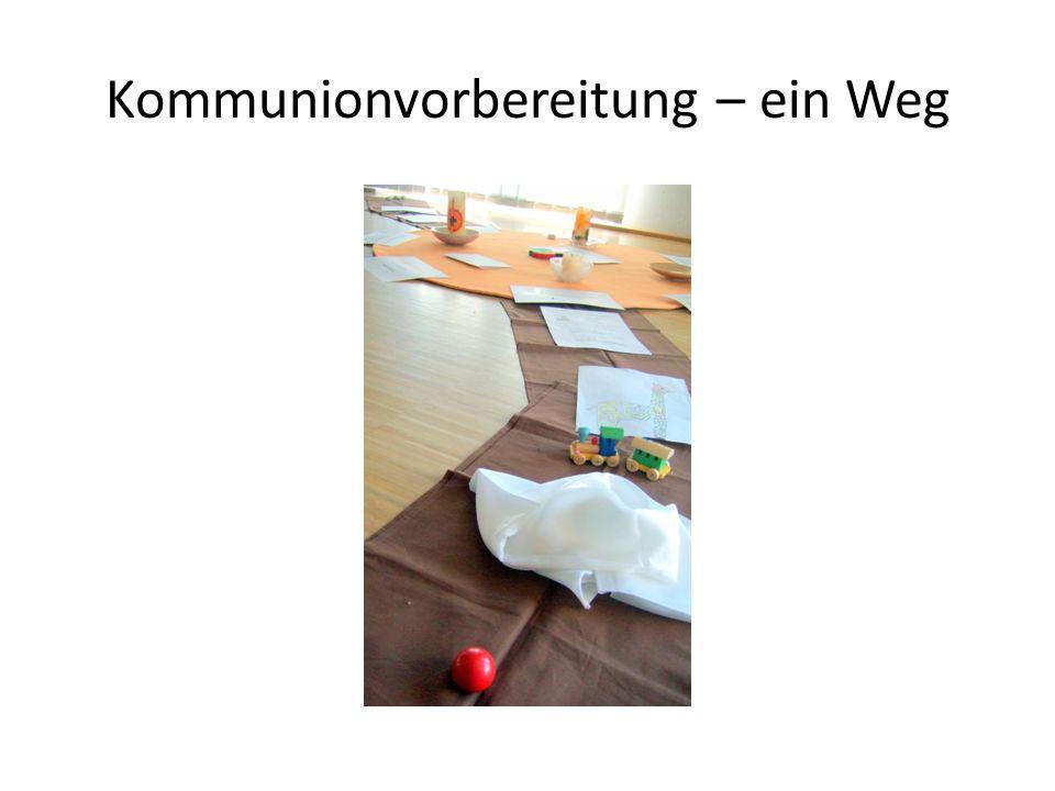 Kommunionvorbereitung – ein Weg