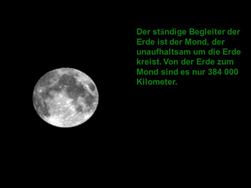 -Die Erde besitzt das stärkste Magnetfeld von allen Gesteinsplaneten des Sonnensystems.