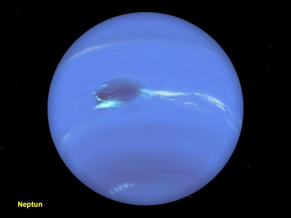 Orbit des Uranus und Satelliten