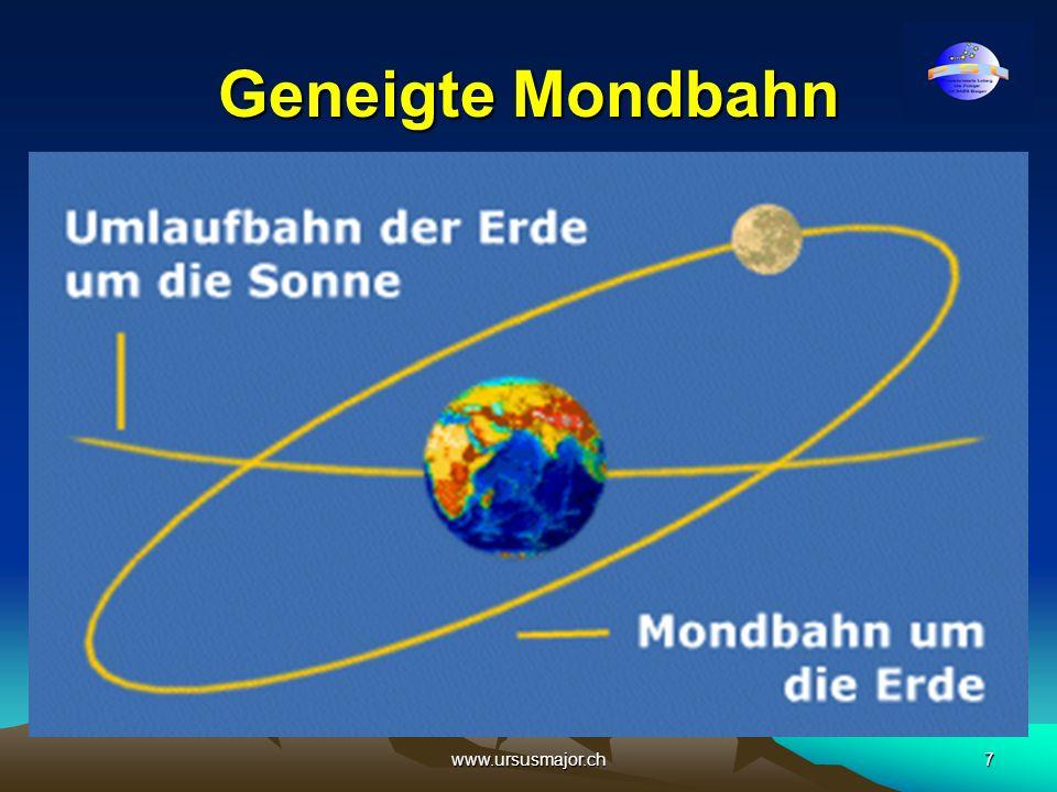 www.ursusmajor.ch7 Geneigte Mondbahn