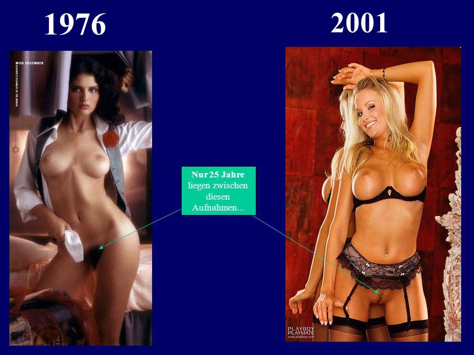Nur 25 Jahre liegen zwischen diesen Bildern...