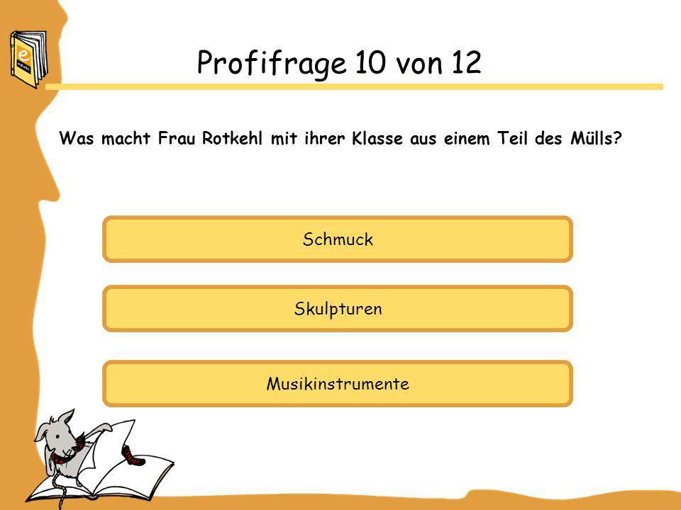 Schmuck Skulpturen Musikinstrumente Profifrage 10 von 12 Was macht Frau Rotkehl mit ihrer Klasse aus einem Teil des Mülls?