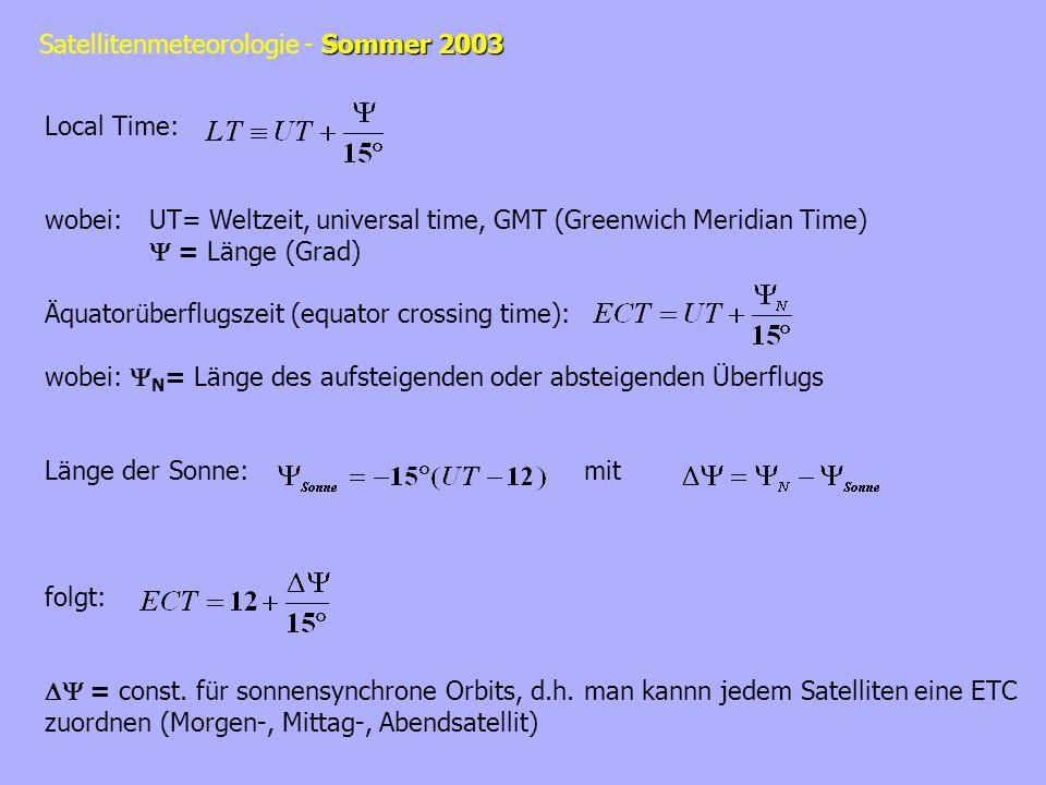 Sommer 2003 Satellitenmeteorologie - Sommer 2003 Komposit