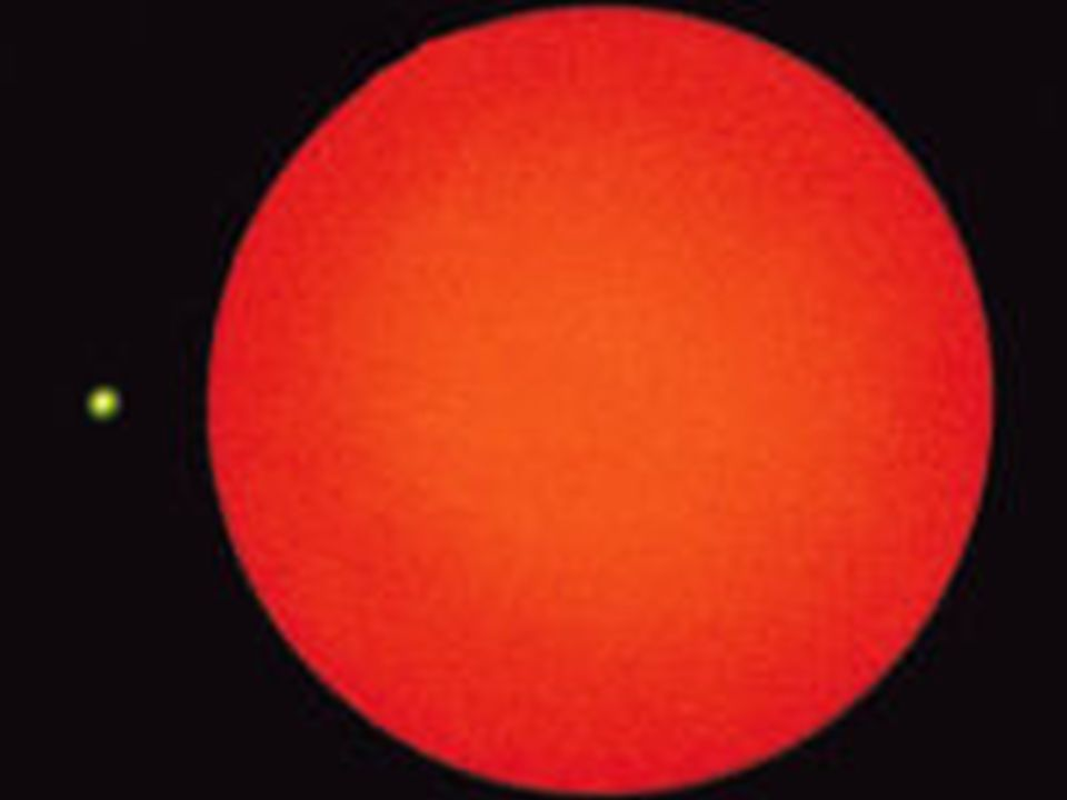 Ein roter Riese