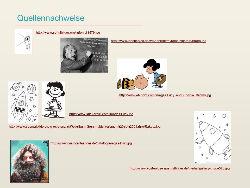 Quellennachweise http://www.schulbilder.org/rufen-t11679.jpg http://www.iphoneblog.de/wp-content/myfotos/einstein-photo.jpg http://www.etc3dot.com/ima