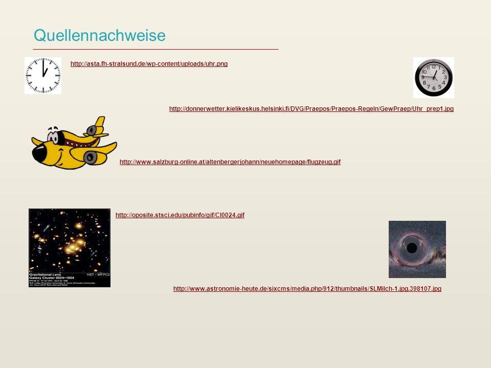 Quellennachweise http://www.astronomie-heute.de/sixcms/media.php/912/thumbnails/SLMilch-1.jpg.398107.jpg http://oposite.stsci.edu/pubinfo/gif/Cl0024.g