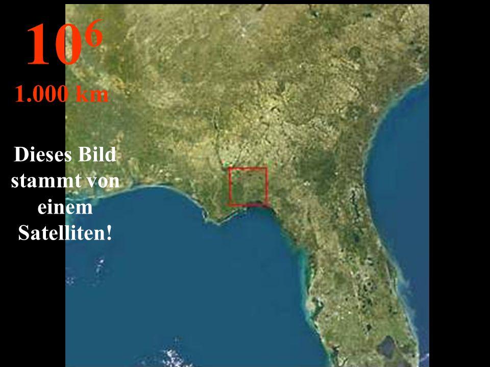 Aus dieser Höhe sehen wir den ganzen Staat Florida ! 10 5 100 km