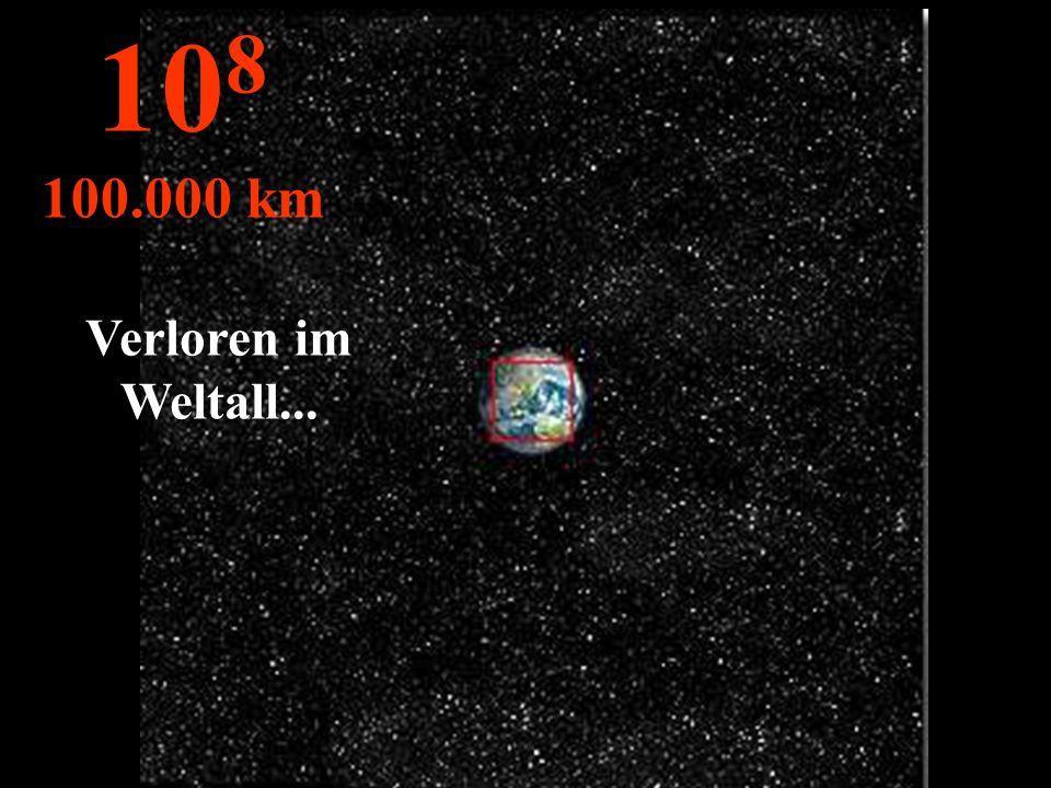 Unser blauer Planet… Wir sehen die Kontinente, die Wolken, die Ozeane... 10 7 10.000 km
