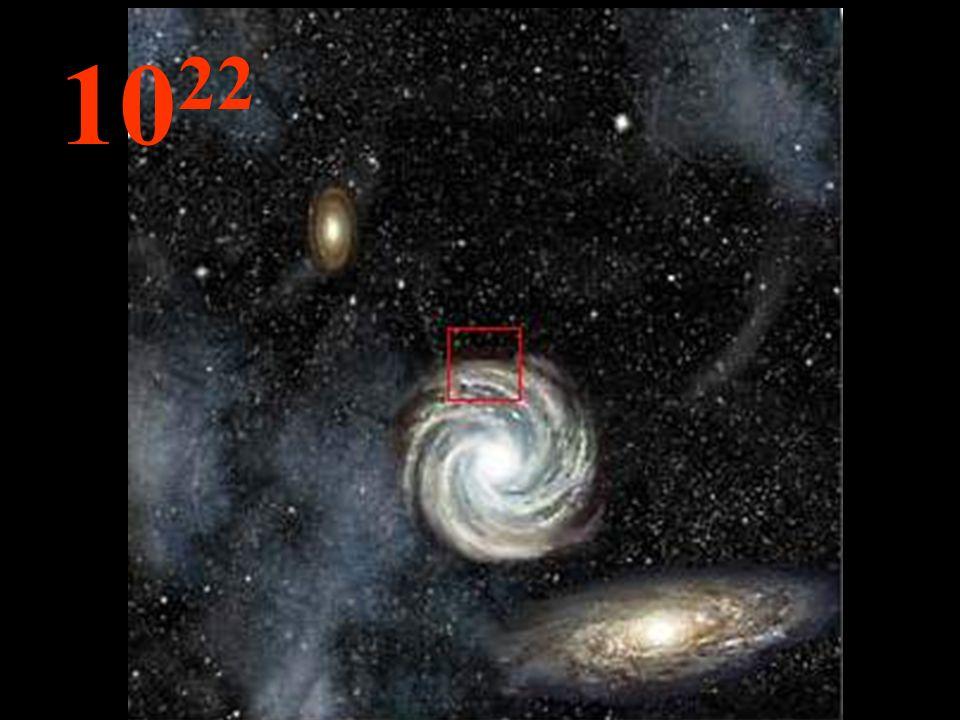 Das Immense, die Unendlichkeit, die Galaxien sind nur kleine Dinge in der unendlichen Leere. Überall in dem ganzen Universum gelten die gleichen Geset