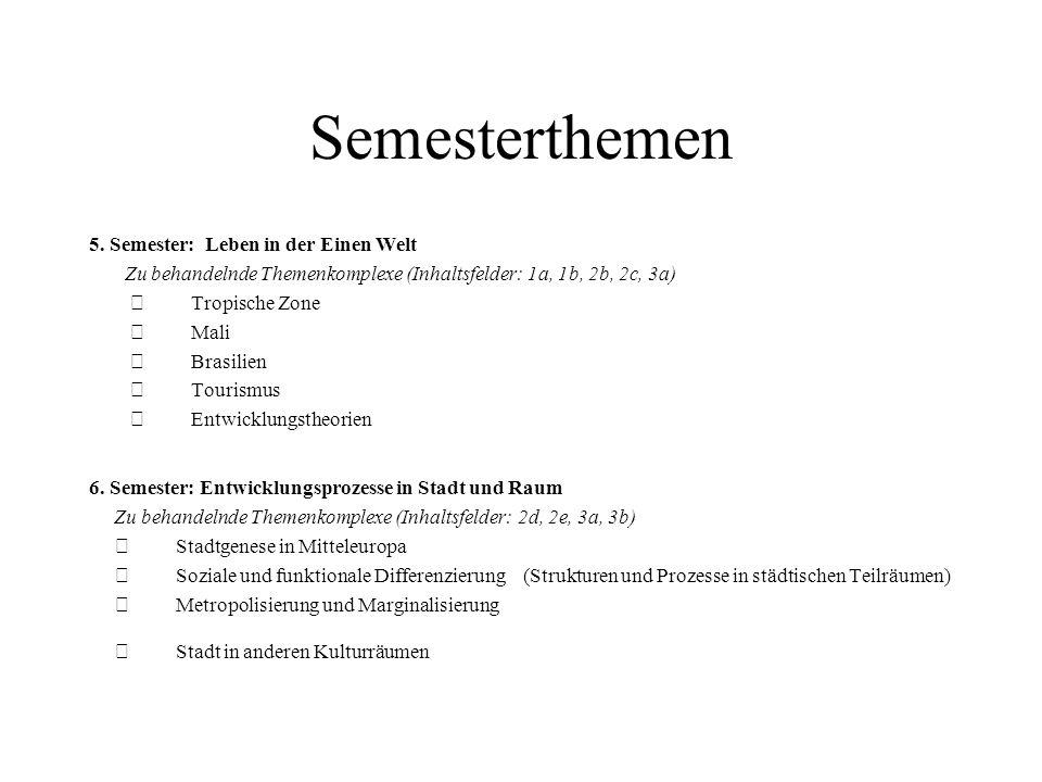 Semesterthemen 7.