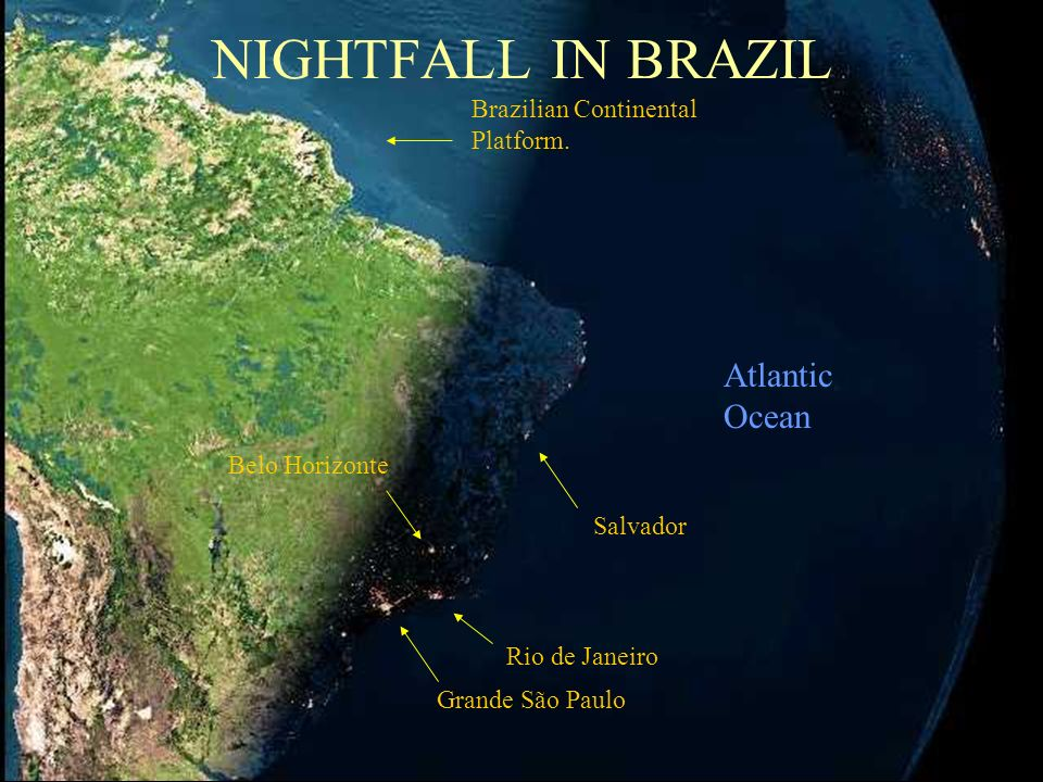 France Iceland Italy ContinentalPlatform England AFRICA Already night time here. Spain Atlantic Ocean Cabo Verde Island Canary Islands Islas de la Mad
