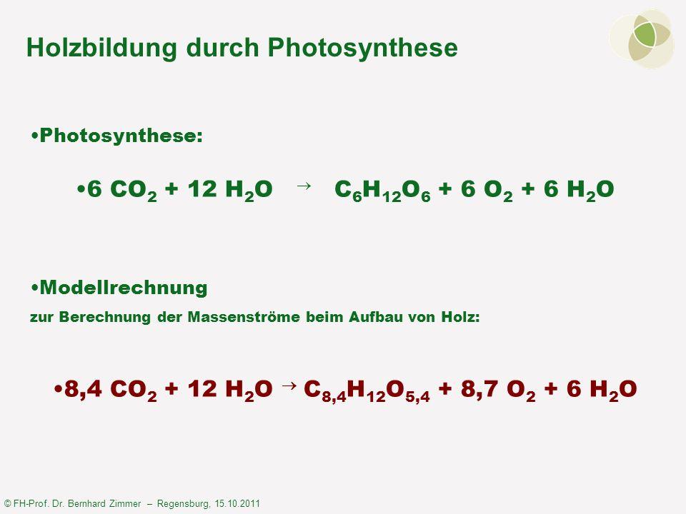 © FH-Prof.Dr. Bernhard Zimmer – Regensburg, 15.10.2011 Zukunft der Holzverwendung nach Prof.