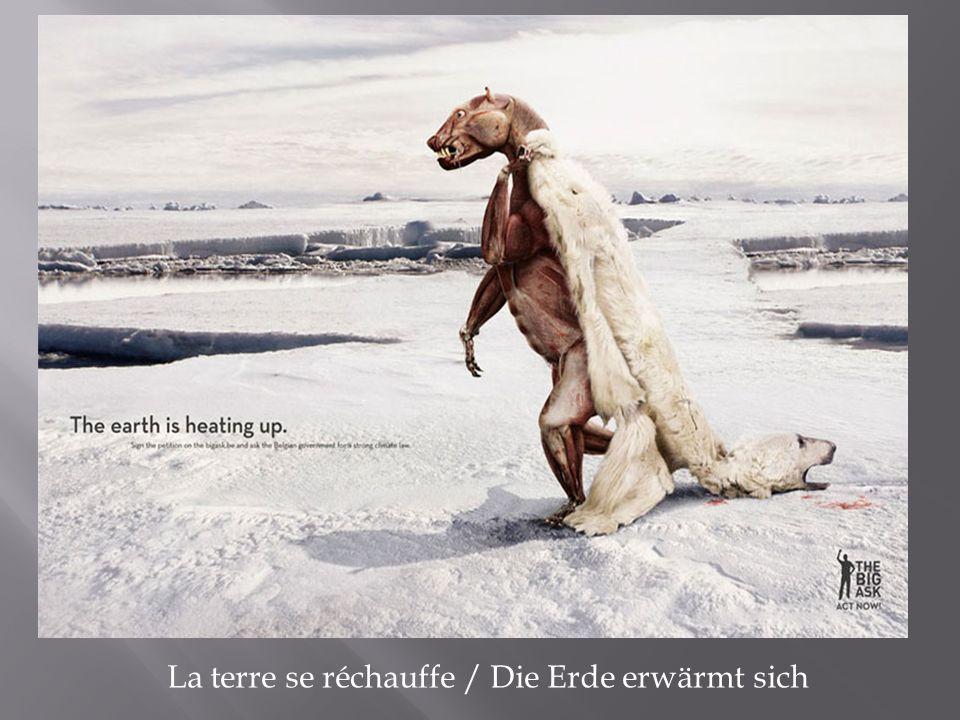 La terre se réchauffe / Die Erde erwärmt sich