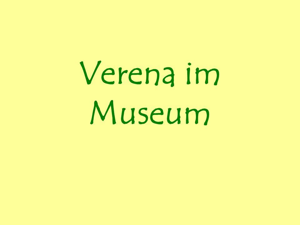 Verena im Museum
