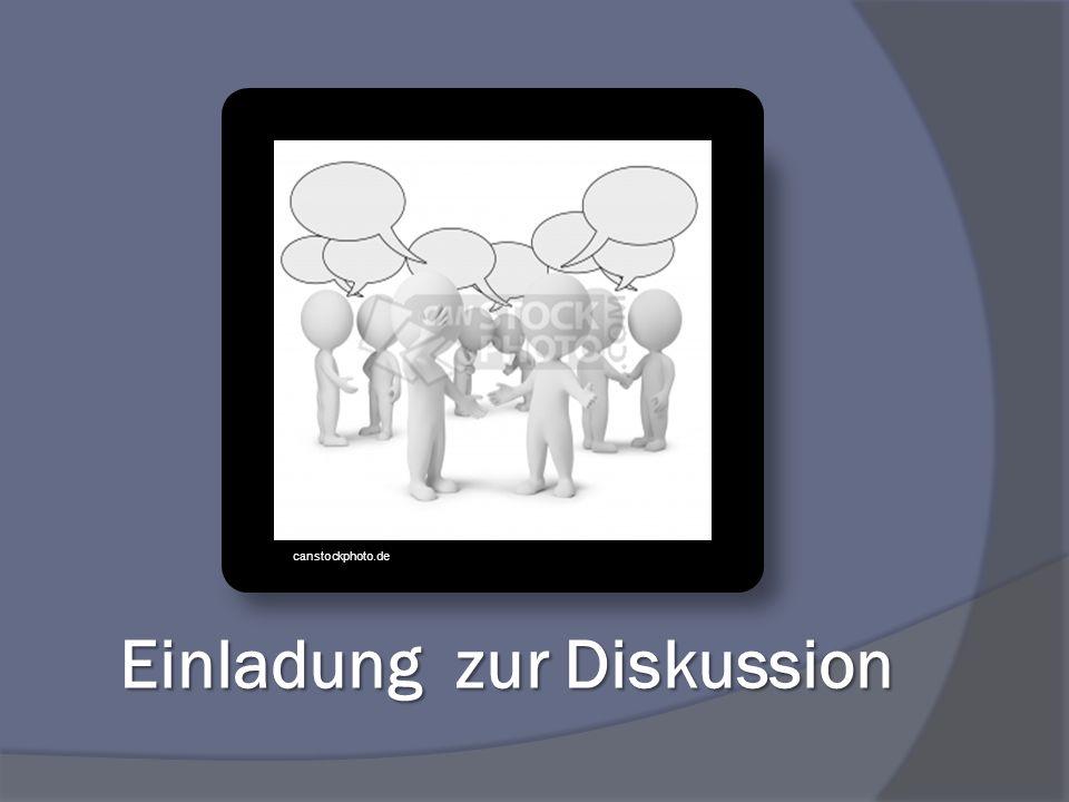 Einladung zur Diskussion canstockphoto.de