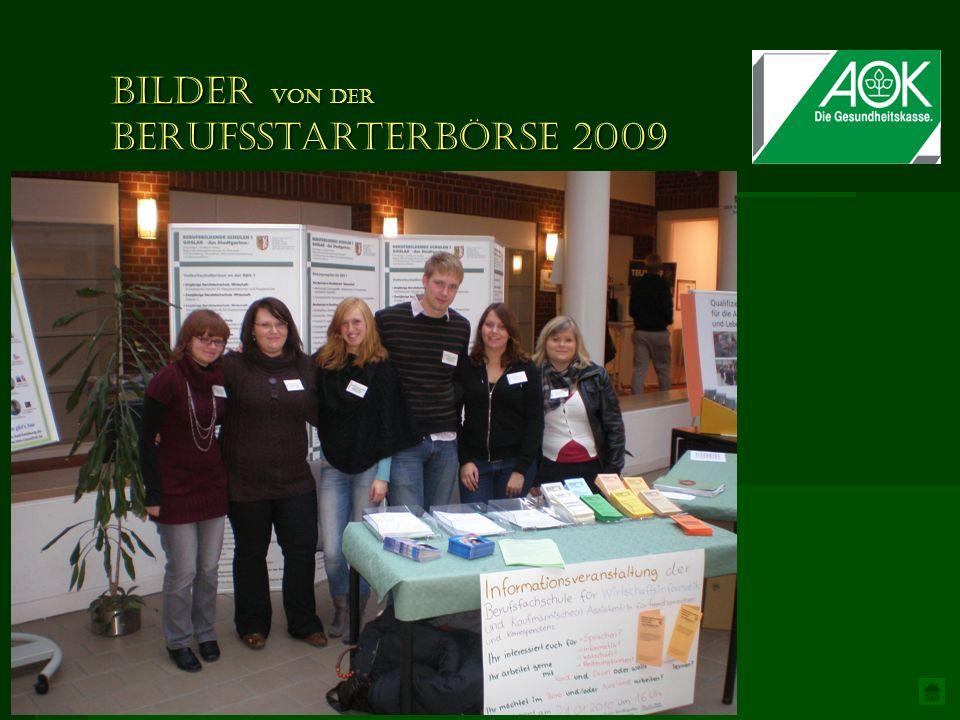 Bilder von der Berufsstarterbörse 2009