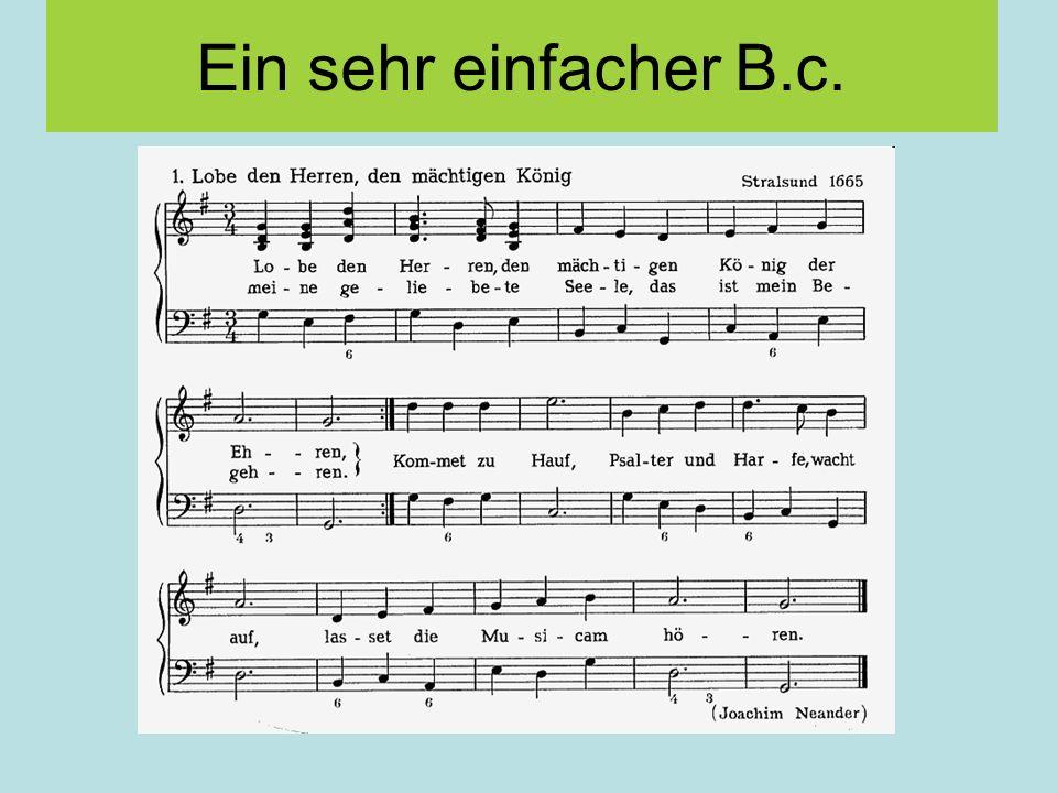 Generalbass-Instrumente Das Cembalo = der Vorgänger des Klaviers -> die Saiten werden angezupft Anderer Klang als beim Klavier YT: Frescobaldi: Toccata X By: romeoamkj