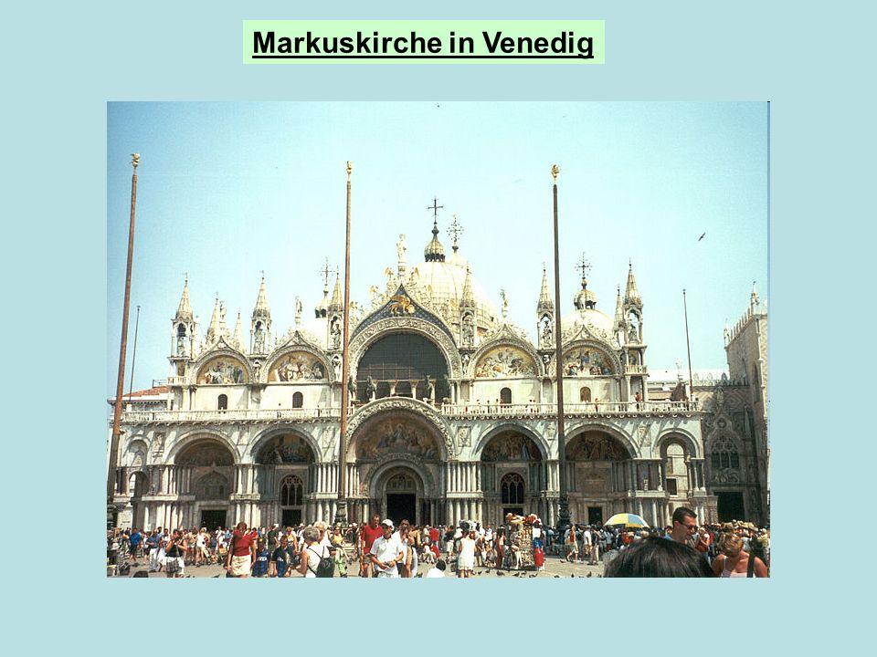 Markuskirche in Venedig