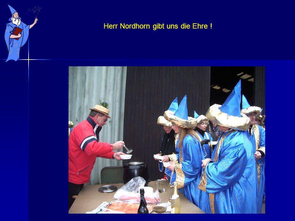 Herr Nordhorn gibt uns die Ehre !