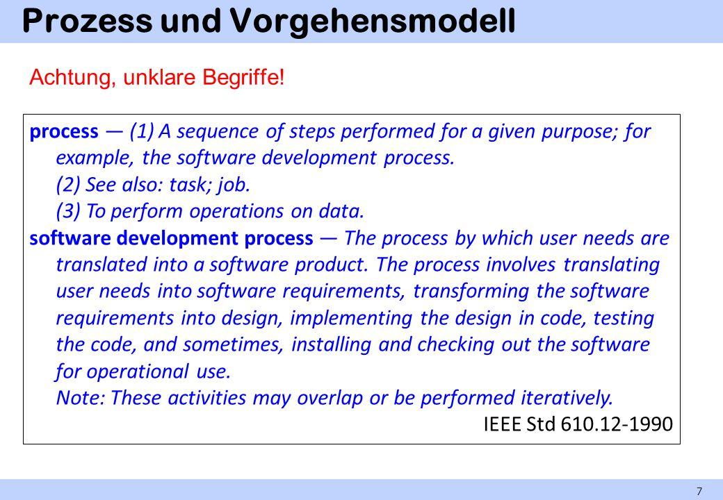 Vergleich der Projekttypen Einfachste Situation: Auftragsprojekt (klare Verteilung der Interessen und Kompetenzen).