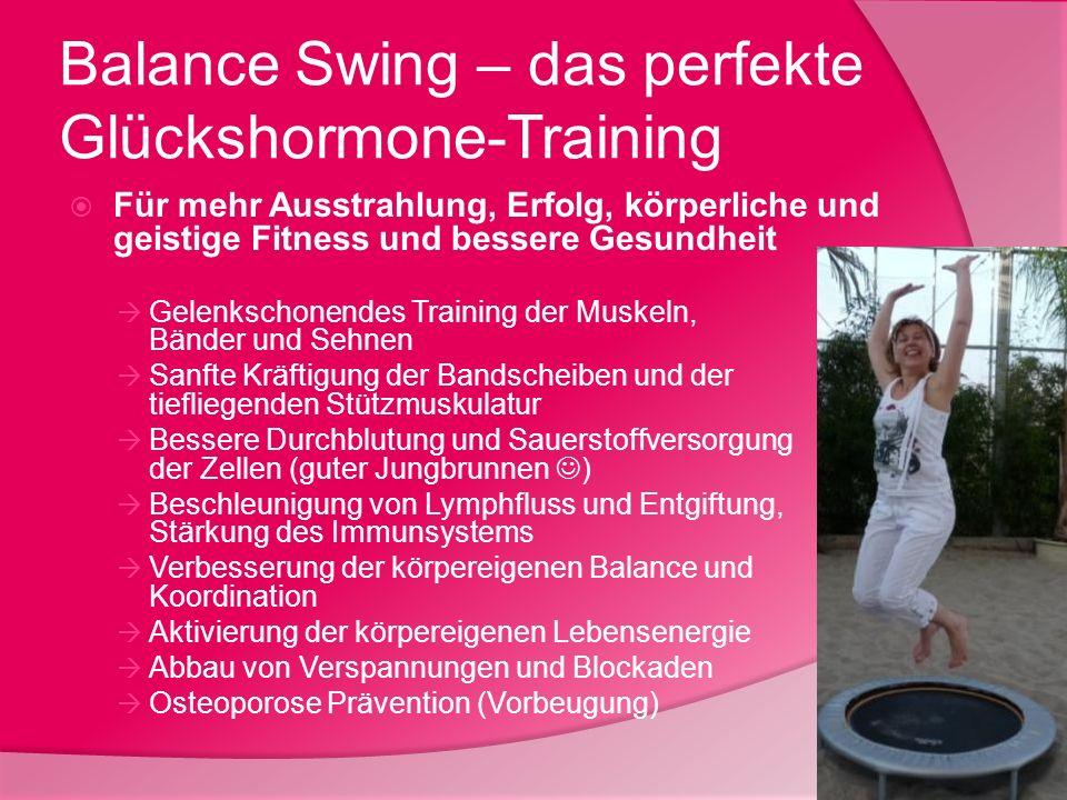 Balance Swing – das perfekte Glückshormone-Training Für mehr Ausstrahlung, Erfolg, körperliche und geistige Fitness und bessere Gesundheit Gelenkschon