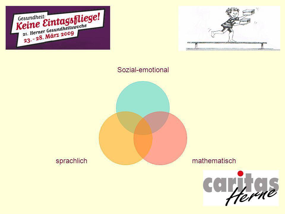 Sozial-emotional mathematischsprachlich