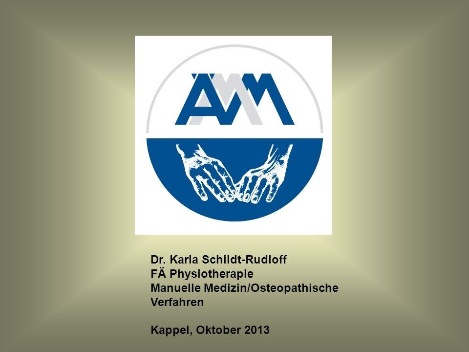 Komplexe Untersuchung und Behandlung des Bewegungssystems Die Rolle der Koordination Dr.