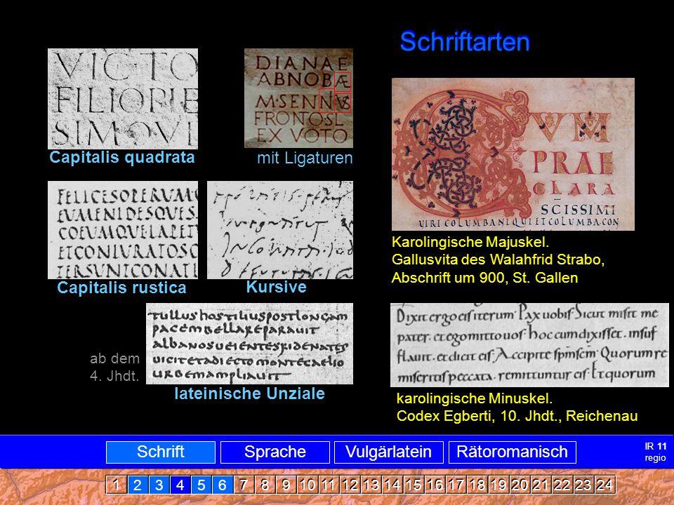 Mittellatein-ARRomanisch3 MITTELLATEIN - ALTRÄTOROMANISCH SATIS NOS OPORTIT TIMERE TRES CAUSAS, KARISSIMI FRATRES, PER QUAS TOTTUS MUNDUS PERIT: HOC EST GULA ET CUPIDITAS ET SUPERBIA, QUIA DIABULUS PER ISTAS TRES CAUSAS ADAM PRIMUM HOMINEM CIRCUMVENIT DICENS: IN QUACUMQUE DIE COMEDERITIS DE LIGNO, HOC APERIENTUR OCULI VESTRI...