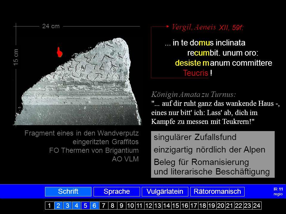 Mittellatein-ARRomanisch4 MITTELLATEIN - ALTRÄTOROMANISCH SATIS NOS OPORTIT TIMERE TRES CAUSAS, KARISSIMI FRATRES, PER QUAS TOTTUS MUNDUS PERIT: HOC EST GULA ET CUPIDITAS ET SUPERBIA, QUIA DIABULUS PER ISTAS TRES CAUSAS ADAM PRIMUM HOMINEM CIRCUMVENIT DICENS: IN QUACUMQUE DIE COMEDERITIS DE LIGNO, HOC APERIENTUR OCULI VESTRI...