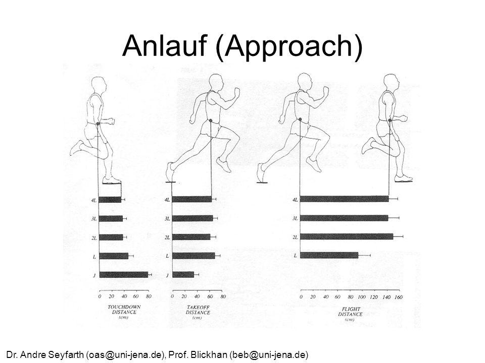 Dr. Andre Seyfarth (oas@uni-jena.de), Prof. Blickhan (beb@uni-jena.de) Anlauf (Approach)