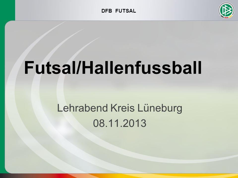 DFB FUTSAL Futsal/Hallenfussball Lehrabend Kreis Lüneburg 08.11.2013