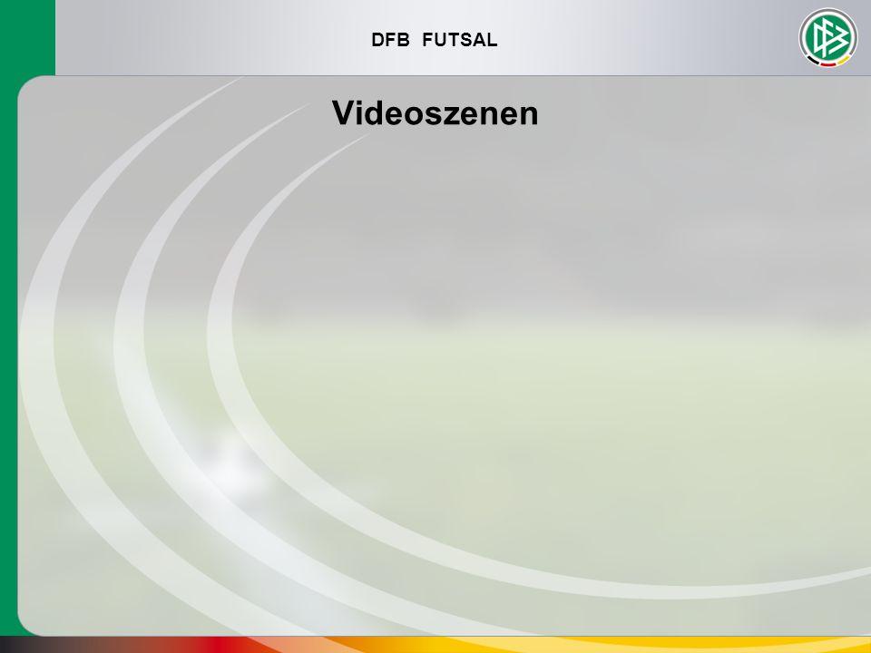 DFB FUTSAL Videoszenen