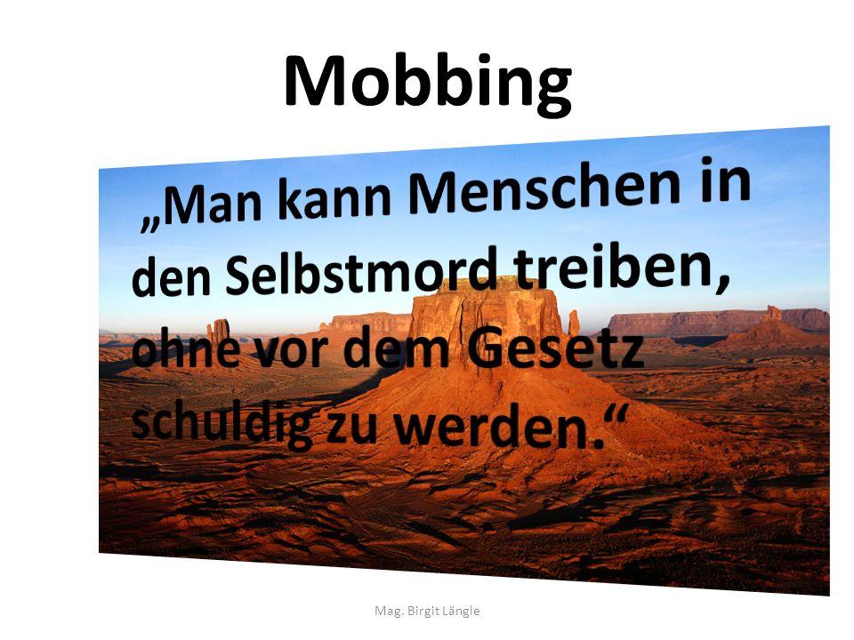 Mobbing Mag. Birgit Längle