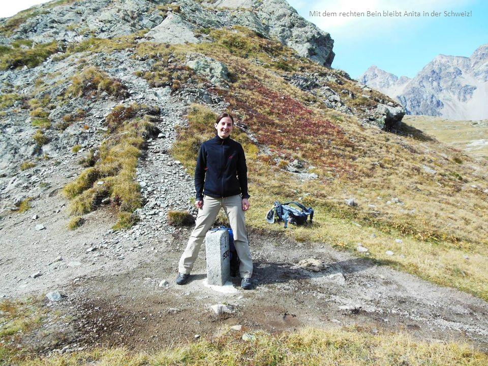 Mit dem rechten Bein bleibt Anita in der Schweiz!