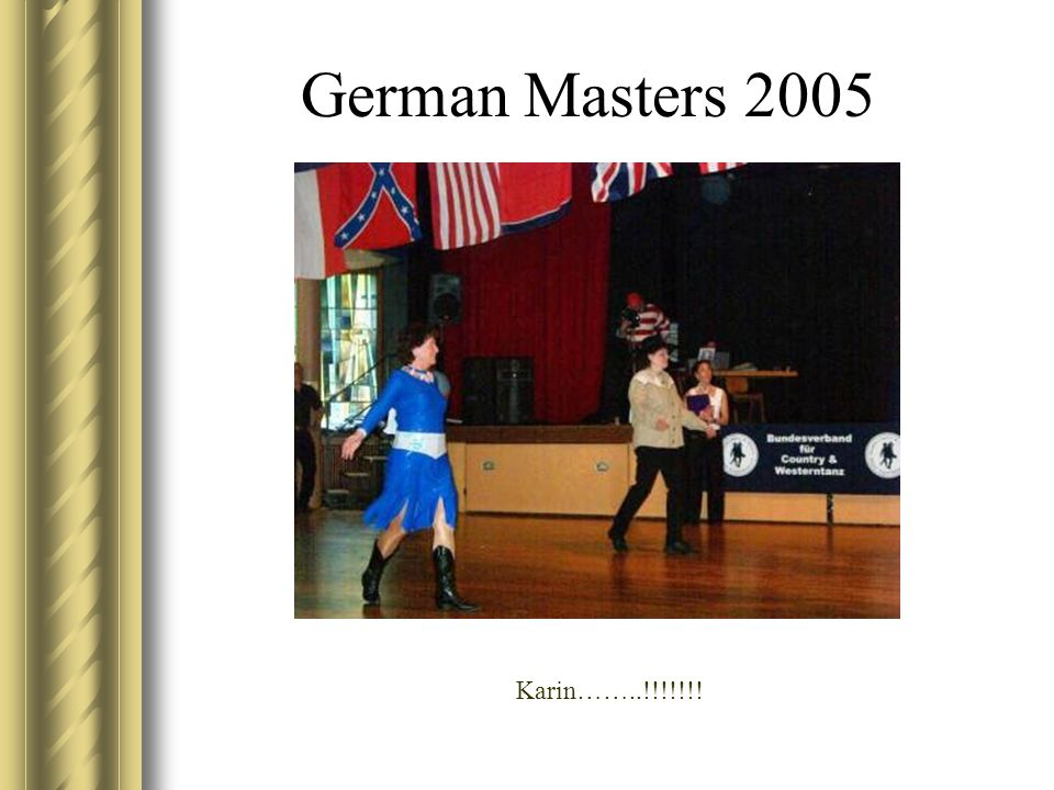 German Masters 2005 Karin……..!!!!!!!