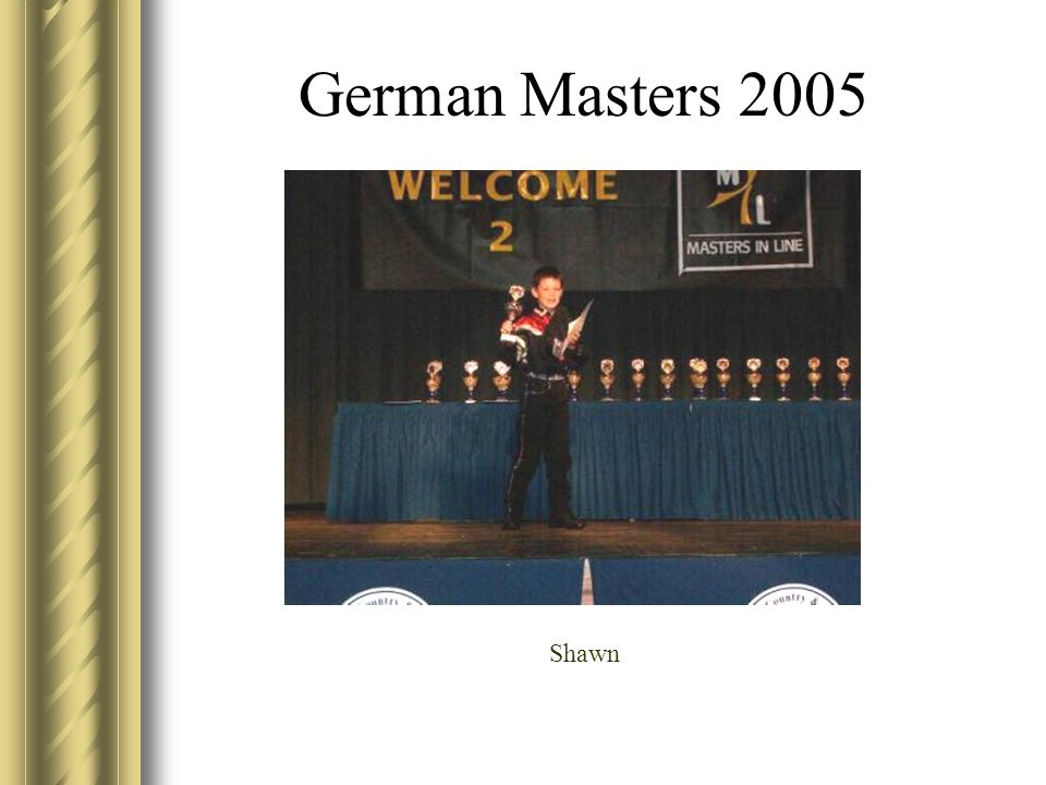German Masters 2005 Shawn