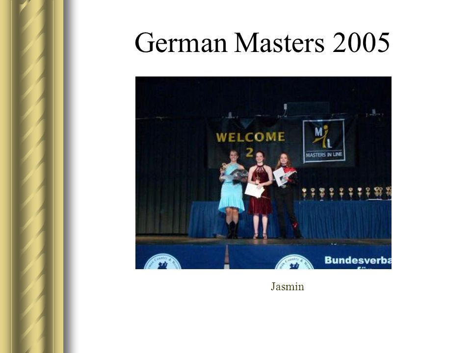 German Masters 2005 Jasmin