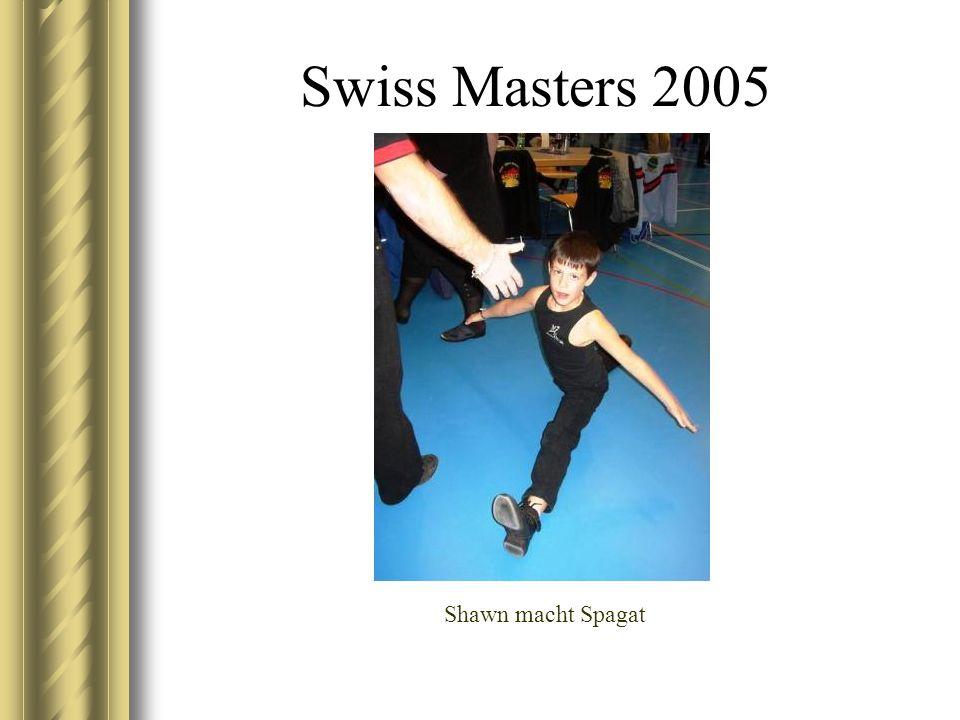 Swiss Masters 2005 Shawn macht Spagat